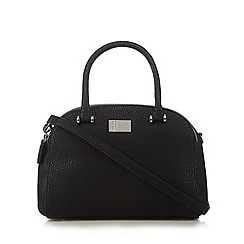 Betty Jackson.Black - Designer black mock croc dome bag