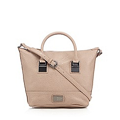 Betty Jackson.Black - Designer light pink grained winged grab bag