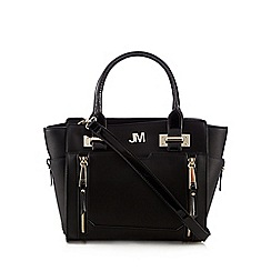 Star by Julien Macdonald - Black double zip front small grab bag