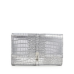 Star by Julien MacDonald - Designer metallic croc clutch bag