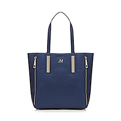 Star by Julien Macdonald - Blue metallic shopper bag