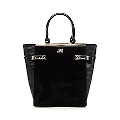 Star by Julien MacDonald - Black pony hair double lock tall grab bag