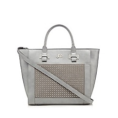 Star by Julien MacDonald - Designer grey studded large grab bag