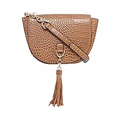 Star by Julien Macdonald - Tan tassel detail cross body bag
