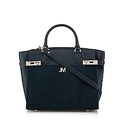 Star by Julien Macdonald - Turquoise pony hair insert tote bag