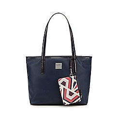Principles by Ben de Lisi - Designer navy patent shopper bag