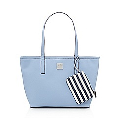 Principles by Ben de Lisi - Light blue shopper bag