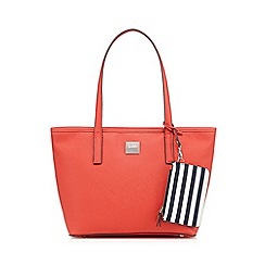 Principles by Ben de Lisi - Coral shopper bag