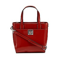 Principles by Ben de Lisi - Designer orange patent lock grab bag