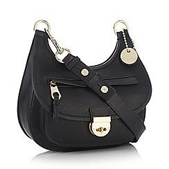 Principles by Ben de Lisi - Designer black patent lock grab bag