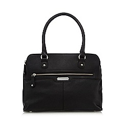 Principles by Ben de Lisi - Black three compartment zip shoulder bag