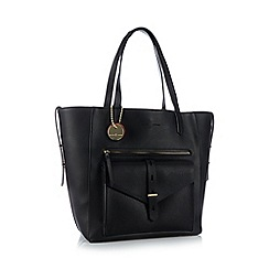 Principles by Ben de Lisi - Black winged shopper bag