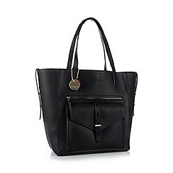 Principles by Ben de Lisi - Black winged shopper bag