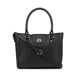 Principles by Ben de Lisi - Black leather tote bag