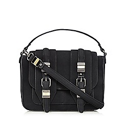 Nine by Savannah Miller - Black 'Cara' satchel bag