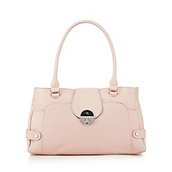 The Collection - Light pink twist lock shoulder bag