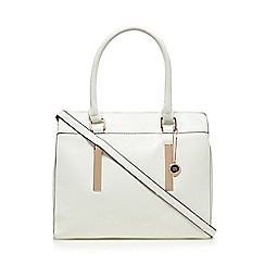 The Collection - White large tote bag