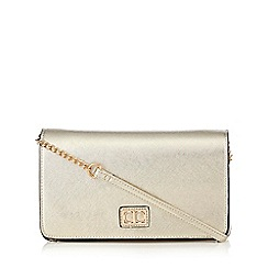 The Collection - Gold shimmer shoulder bag