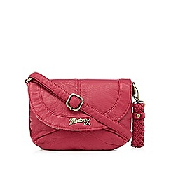 Mantaray - Pink soft mini cross body bag