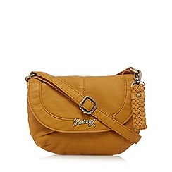 Mantaray - Mustard cross body bag