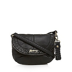 Mantaray - Black soft mini cross body bag
