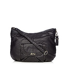 Mantaray - Black washed shoulder bag