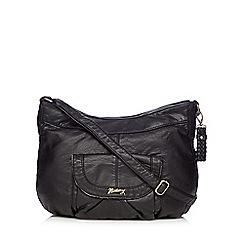 Mantaray - Black washed shoulder bag
