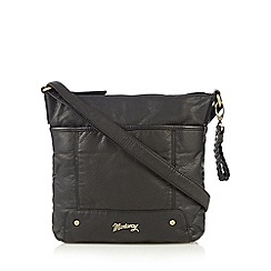 Mantaray - Black soft cross body bag