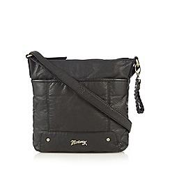 Mantaray - Black soft cross body bag
