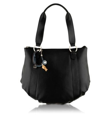 Black Strand large shoulder bag