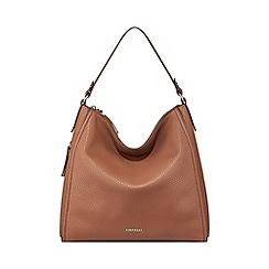 Mantaray - Tan washed bowler bag