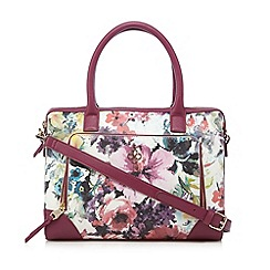 Bailey & Quinn - Pink floral printed grab bag