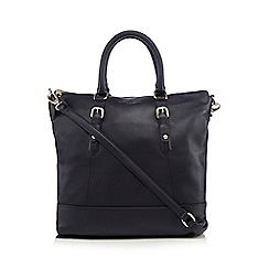 Bailey & Quinn - Navy leather weekend tote