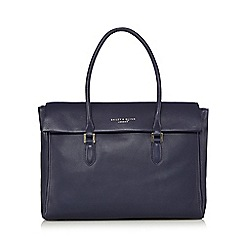 Bailey & Quinn - Navy leather shoulder bag