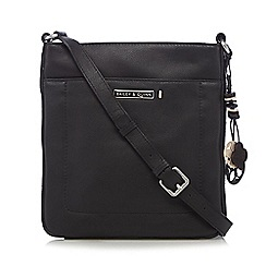 Bailey & Quinn - Black 'Ivy' leather cross body bag