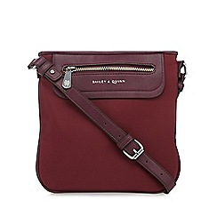Bailey & Quinn - Wine zip pocket cross body bag