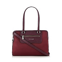Bailey & Quinn - Wine three compartment tote bag