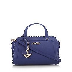 Floozie by Frost French - Navy scalloped edge grab bag