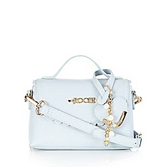Floozie by Frost French - Light blue scalloped edge mini cross body bag