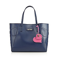 Floozie by Frost French - Navy side bow shopper bag