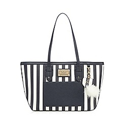 Floozie by Frost French - Navy striped tote bag