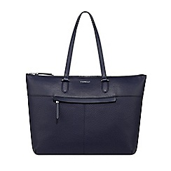 Floozie by Frost French - Blue heart cutout winged tote bag