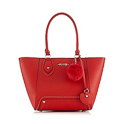 Floozie by Frost French - Red charm tote bag