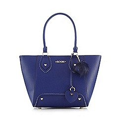 Floozie by Frost French - Navy charm tote bag