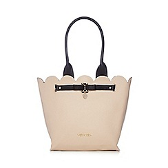 Floozie by Frost French - Light pink scalloped tote bag