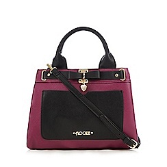 Floozie by Frost French - Dark pink three compartment grab bag