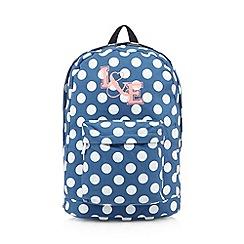 Iris & Edie - Blue spotted backpack