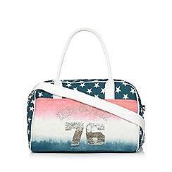 Iris & Edie - Pink canvas ombre holdall