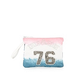 Iris & Edie - Pink canvas ombre bag