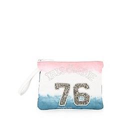 Iris & Edie - Pink canvas ombre bag